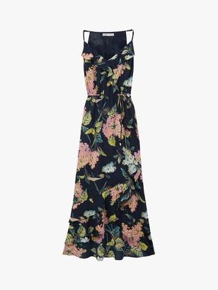 Oasis Blossom Frill Dress, Multi