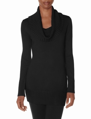 The Limited Cowl Neck Tunic Sweater