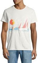 Sol Angeles Sol Vela Sailboat T-Shirt, White