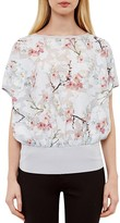 Ted Baker Floral Blouson Top
