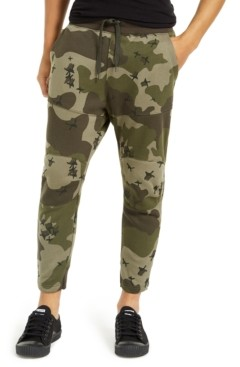 G Star Raw Men's Slim-Fit Camo Jogger Pants, Created For Macy's