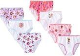 Disney Handcraft Little Girls' Jr Multi 7 Pack Panty