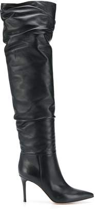Gianvito Rossi ruched leather boots