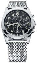 Victorinox Men's Silver-Tone Chronograph Watch