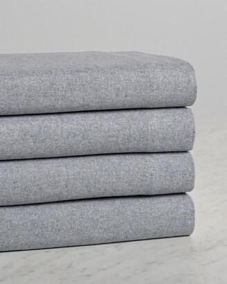 Belle Epoque Heathered Flannel Sheet Set