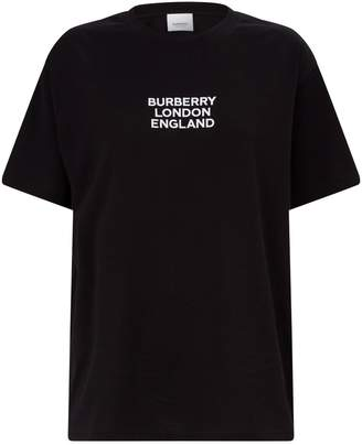 Burberry Cotton Logo T-Shirt