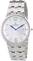 Festina Men's Quartz Watch with Dial Analogue Display and Stainless Steel Bracelet F6825/1