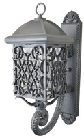 Penfield Outdoor Wall Lantern Alcott Hill Fixture Finish: Architectural Bronze