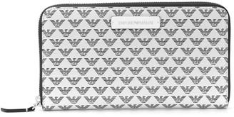 Emporio Armani monogram print wallet