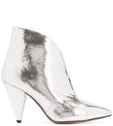 Isabel Marant Archenn metallic ankle boots