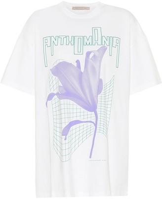 Christopher Kane Oversized printed cotton T-shirt