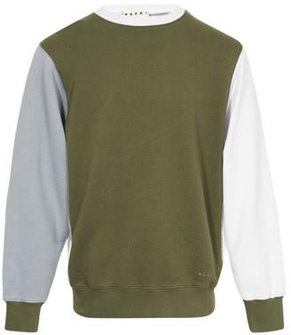 Marni Colorblock sweatshirt