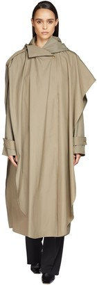 Bottega Veneta Compact Cotton Maxi Cape