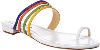Alexandre Birman Strappy Leather Sandal