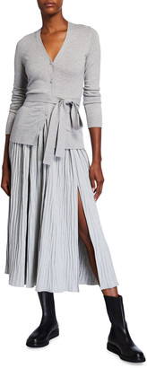 Altuzarra Belted Cardigan Midi Dress