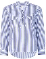 Veronica Beard striped shirt - women - Cotton - 0