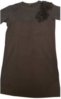 Louis Vuitton Black Cotton Dress for Women