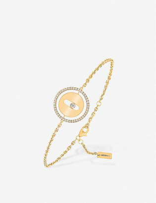 Messika Lucky Move 18ct yellow-gold and diamond bracelet
