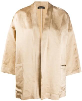 Antonelli Satin Kimono Jacket