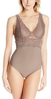 Yummie by Heather Thomson Women's Lux Lace Gretchen Bodysuit