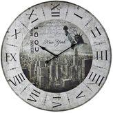 Sterling New York Wall Clock
