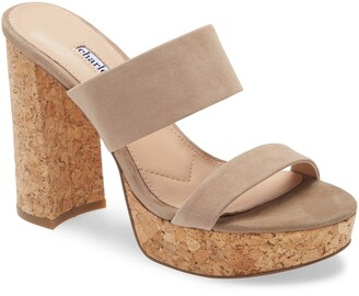 Charles David Jinx Platform Slide Sandal