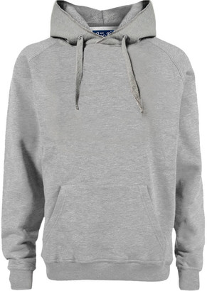 MC2 Saint Barth Grey Melange Cotton Hoodie