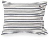 Lexington Company Lexington Flannel Stripe Pillowcase White/Grey/Blue 65x65cm
