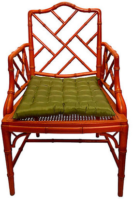 One Kings Lane Vintage Faux-Bamboo Chinese Chippendale Chair - Von Meyer Ltd.