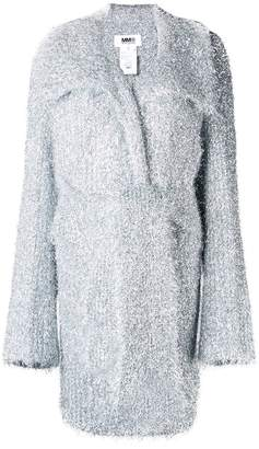 MM6 MAISON MARGIELA sparkle knit cardigan