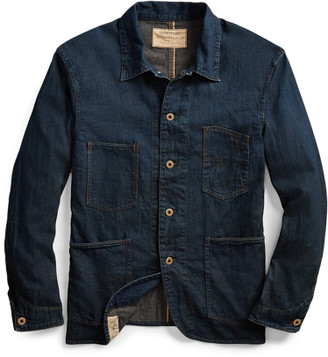 Ralph Lauren Selvedge Denim Engineer Jacket