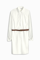 Splendid Belted Cotton Shirt Dress