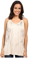 Scully Marissa Fringe Tank Top