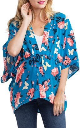 Nom Maternity Floral Maternity Top