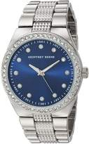 Geoffrey Beene Men's Quartz Metal and Alloy Dress Watch, Color:Silver-Toned (Model: GB8118SL)