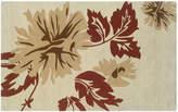 Linon Trio with a Twist Floral Area Rug - 1'10'' x 2'10''