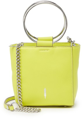 THACKER Le Bucket O-Ring Leather Mini Crossbody Bag