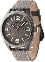 Timberland Men's Northfield Brown Nylon Strap Watch 45x65mm TBL14476JSU13