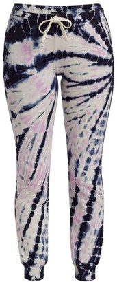 Monrow Tie-Dye Cinched Sweatpants