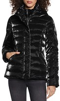 Thumbnail for your product : Dawn Levy Kimmy Hooded Liquid Shine Puffer Coat
