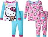 SANRIO Hello Kitty 4 Piece Set (Toddler) - Multicolor - 4T