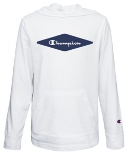 Champion Diamond Script Big Boys Jersey Hoodie