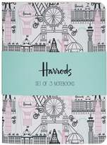 Harrods Balloons And Bicycles Notebook Set