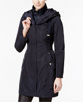 Laundry by Shelli Segal Pillow-Collar Hooded Raincoat