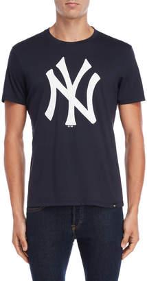 New York Yankees Navy Team Logo Tee