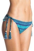 Roxy Women's Native Geo Tie Side Surfer Bikini Bottom