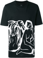 Oamc printed T-shirt - men - Cotton - L