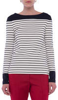 French Connection Tim Tim Stripe Long-Sleeve Tee