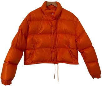 Moncler Classic Orange Polyester Coats