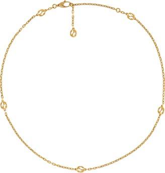 Gucci Interlocking G 18k necklace